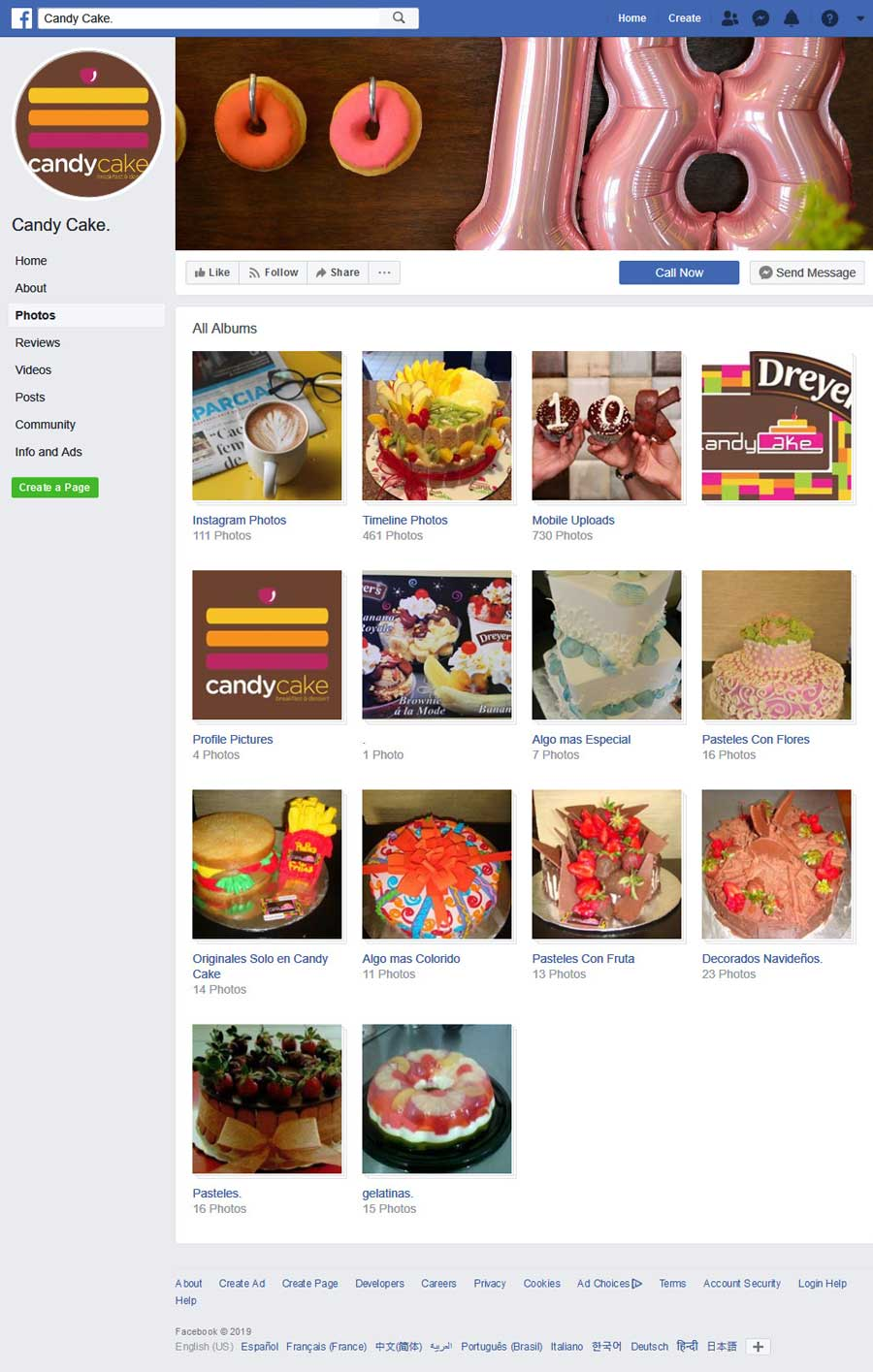 Restaurant Candy Cake in Rocky Point Mexico (Puerto Penasco). Click the Picture to Visit Candy Cake's Facebook Page Site!