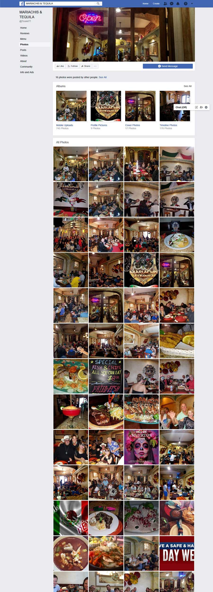 Mariachis and Tequila Bar and Restaurant in Rocky Point Mexico (Puerto Penasco). Click the Picture to Visit Mariachis and Tequila Bar and Restaurant Facebook Page Site!