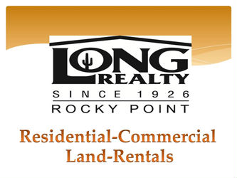 Logo of Long Realty's Website for Puerto Penasco Mexico.