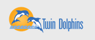 Logo of Twin Dolphin's Website for Puerto Penasco Mexico.