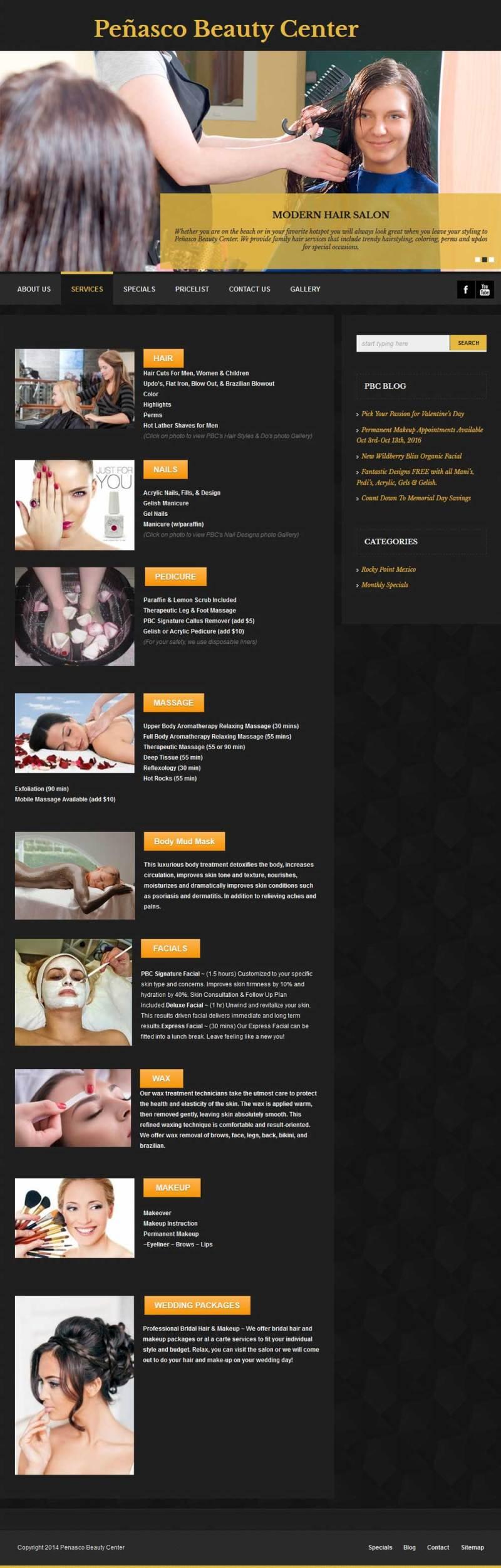Penasco Beauty Center in Puerto Penasco (Rocky Point Mexico). Click here to visit Penasco Beauty Center's website.