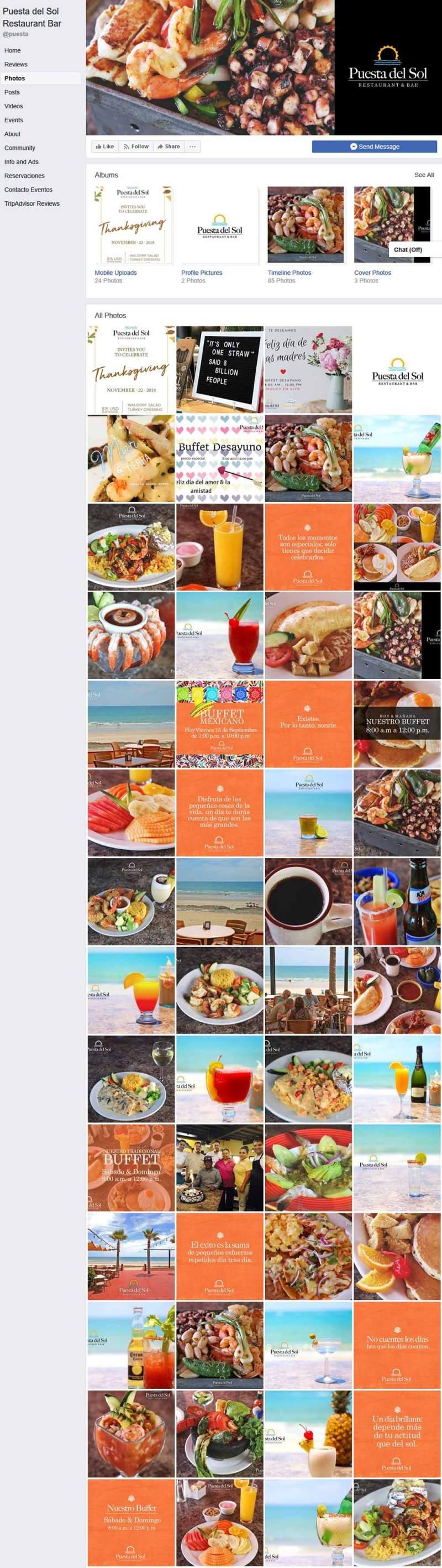 Puesta Del Sol Restaurant in Puerto Penasco (Rocky Point Mexico). Click here to visit the Puesta Del Sol's website.